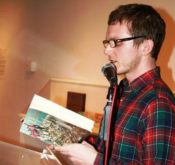 Mark Leidner reading poetry