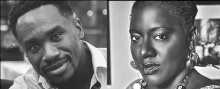 Tameka Cage Conley and Derek Nnuro