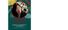 Poster for Emory University Lan Samantha Chang reading
