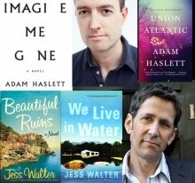 Adam Haslett and Jess Walter author and books