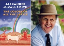 Alexander McCall Smith and book cover