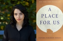 Fatima Farheen Mirza and book cover