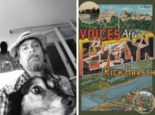 Rick Harsch and book cover