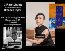 C Pam Zhang in Conversation with Brandon Taylor