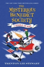 The Mysterious Benedict Society and the Riddle of Ages book cover