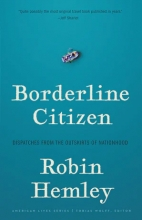 Borderline Citizen: Dispatches from the Outskirts of Nationhood book cover
