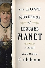 The Lost Notebook of Édouard Manet book cover
